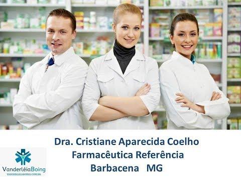 Dra Cristiane Aparecida Coelho Farmacêutica Clínica - Barbacena MG