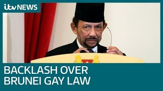 Backlash as Brunei introduces death by stoning for homosexual sex | ITV News