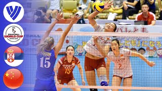 Serbia vs. China - Full Match | Women's Volleyball World Cup 2015