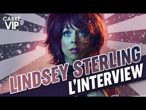 Lindsey Stirling l'interview exclusive 2019 (Carré Vip sur RTS)