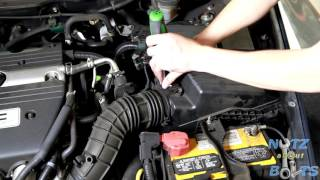How to change spark plugs in 2003 2007 honda accord tune up most 2003 2007 honda accord mass air flow sensor replacement fandeluxe Choice Image