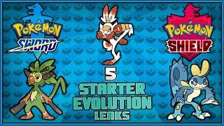 5 Leaked New Starter Evolutions for Pokémon Sword and Shield | Every FINAL Starter Evolutions