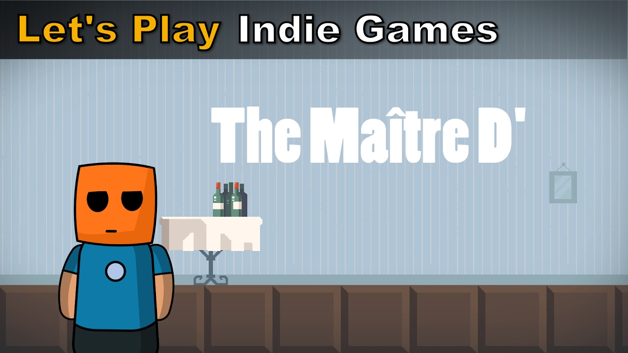 The Maître D' | Stretchy puzzle game