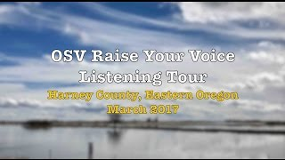 Oregon Student Voice visits Harney County