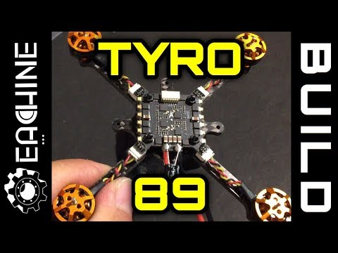 Eachine Tyro89 Build and Fly