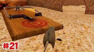 КАК СОБРАТЬ МЫШЕЛОВКУ !!! Mouse Simulator  21 серия