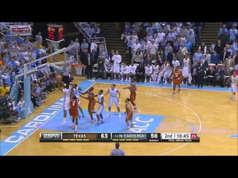 Video: UNC-Texas Game Highlights