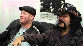 Corey Taylor and Vinnie Paul commenting on 'Fuck You' (Damageplan)