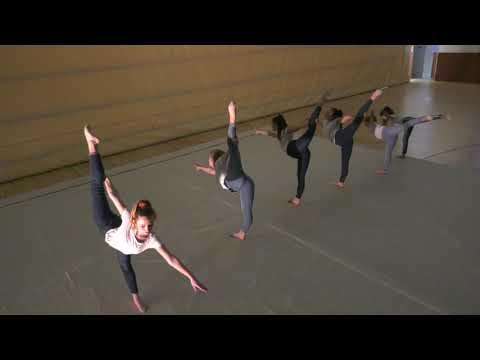 A nagyatádi ritmikus gimnasztika csapat karácsonyi üzenete