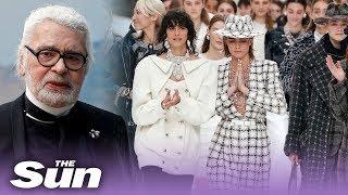 Show Chanel di Paris Fashion Week, Jadi Proyek Terakhir Karl Lagerfeld