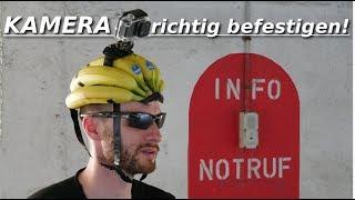 Kamera am Helm befestigen! Trick und Tipps