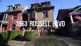3963 Russell Blvd, St. Louis, MO 63110 For Sale in Historic Shaw