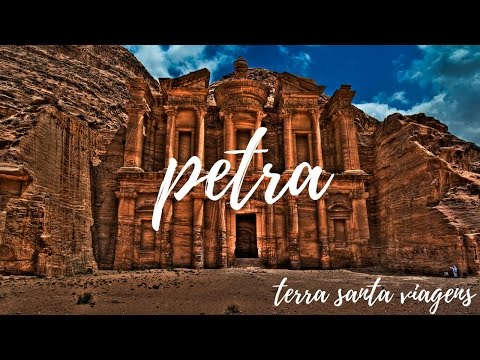 A incrível Petra - esculpida em pedras rosas