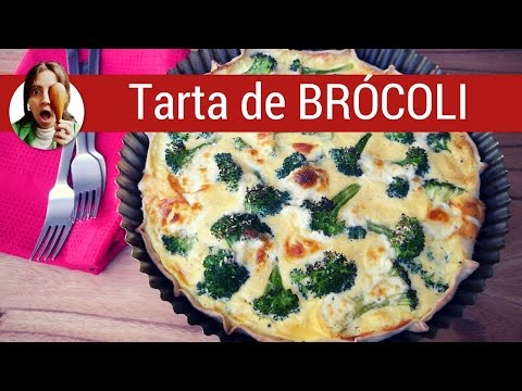 Tarta de brocoli / Recetas de tartas saladas - Paulina Cocina