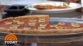 Banana On Pizza?! TODAY Anchors Try Sweden's Unusual Combo | TODAY