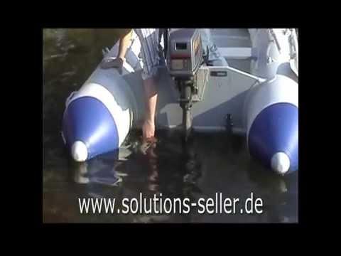 Neue Generation von Slipräder für Schlauchboote