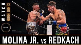Molina Jr. vs Redkach HIGHLIGHTS: December 15, 2017 - PBC on FS1