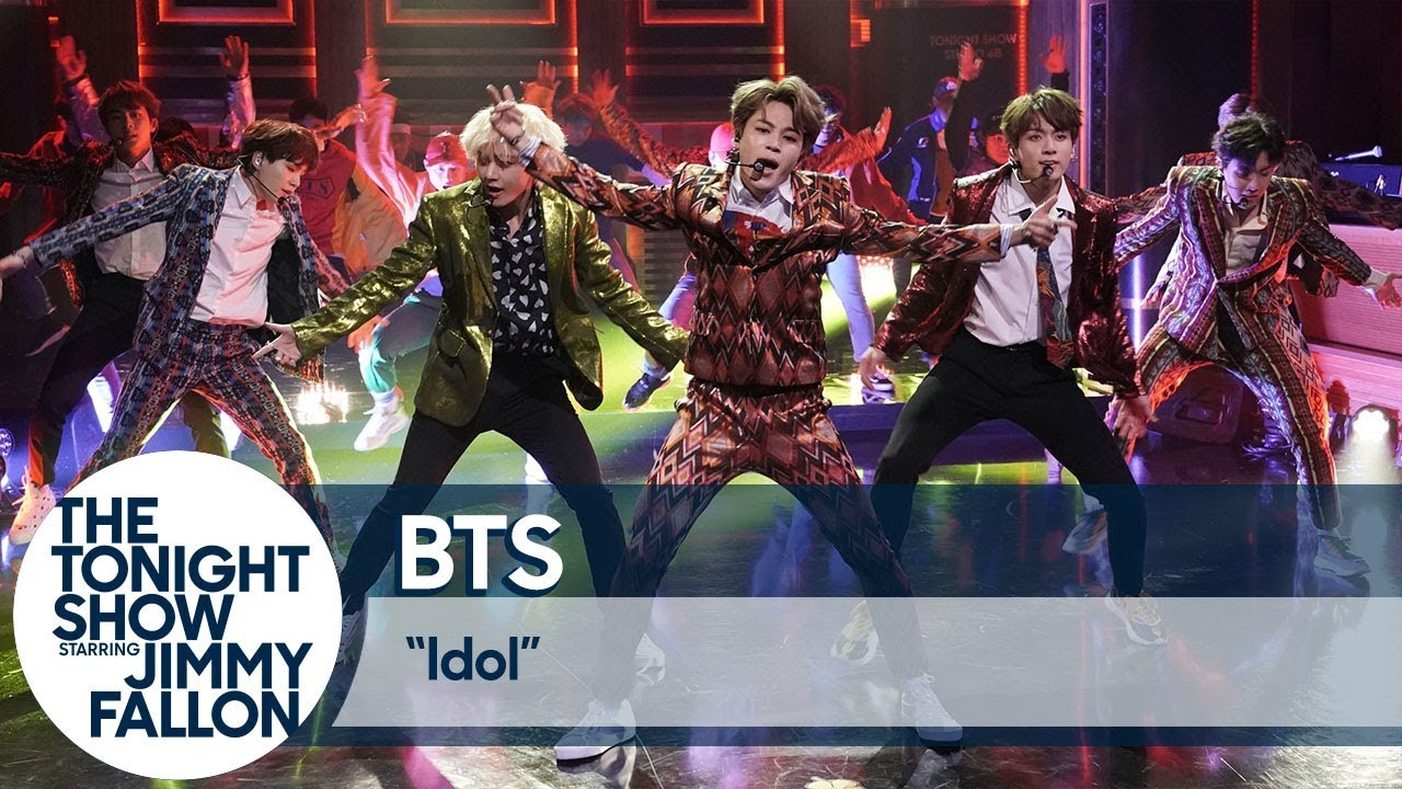 """BTS Performs """"Idol"""" on The Tonight Show thumbnail"""
