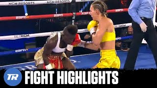 Mikaela Mayer unleashes combinations on Joseph, gets win, gets title shot next | FIGHT HIGHLIGHTS