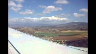 preview picture of video 'Flight from Santander (LEXJ) to Rome Ciampino (LIRA) - Ryanair 738 - June 2010.'