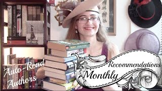 Monthly Recommendations: Auto-Read Authors