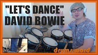 ★LetsDanceDavidBowie★DrumLessonPREVIEW|HowToPlaySongTonyThompson