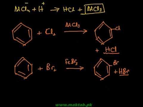 FSc Chemistry Book2, CH 9, LEC 10: Halogenation / Nitration & Sulphonation (Part 2)
