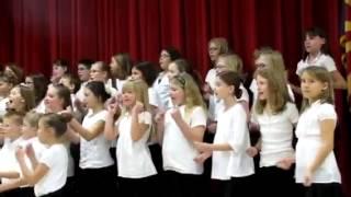 """""""Zat you Santa Claus?"""" Patterson choir"""