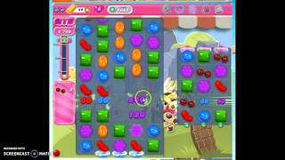 Candy Crush Level 1661 help w/audio tips, hints, tricks
