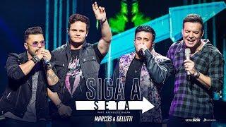 Marcos e Belutti gravam dueto ao lado de Matheus e Kauan