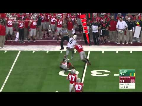 2015 National Championship in 30 minutes - Ohio State vs. Oregon