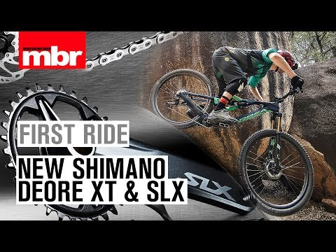 New Shimano Deore XT and SLX | First Ride | Mountain Bike Rider