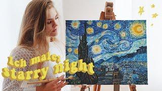 Ich Male STARRY NIGHT Von Vincent Van Gogh   I'mJette