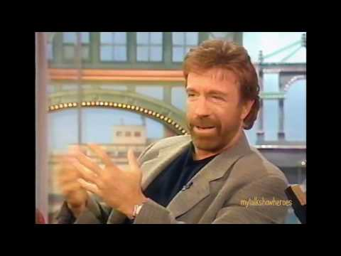 CHUCK NORRIS HAS FUN WITH ROSIE