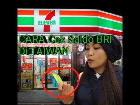 Tutorial Cek Saldo BRI Di TAIWAN