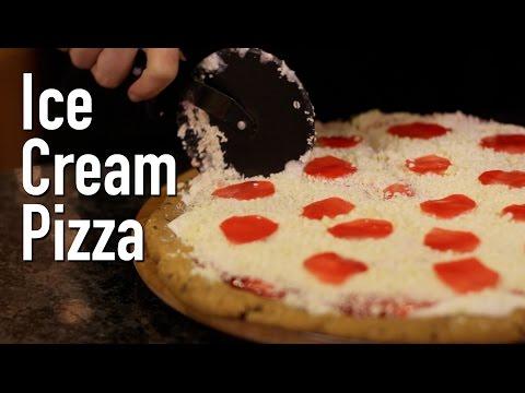 Ice Cream Dessert Pizza