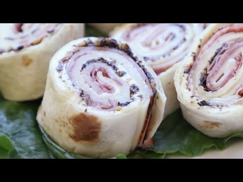 Appetizer Recipes – How to Make Muffaletta Pinwheels