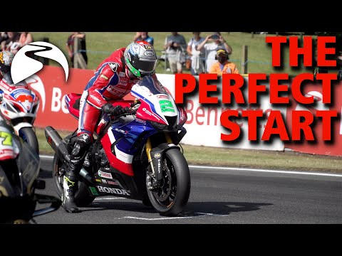 How to launch a Superbike | BSB Race Start