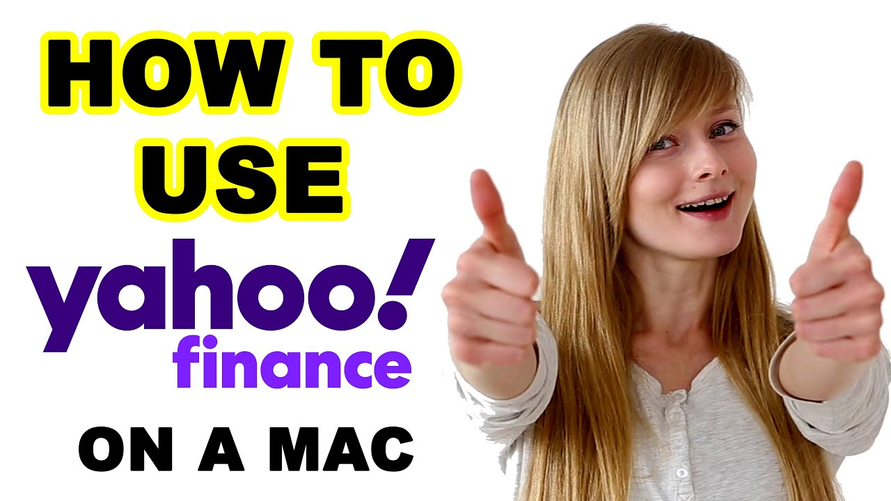 HOW TO utilize YAHOO Financing on a MAC thumbnail