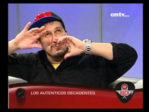 Los Auténticos Decadentes video Entrevista CM Rock - Septiembre 2014