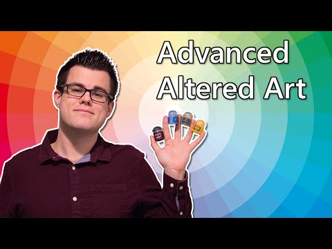 MTG Advanced Altered Art Tutorial for Magic: the Gathering Cards!