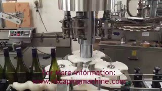 Automatic Wine Bottle Capping Machine