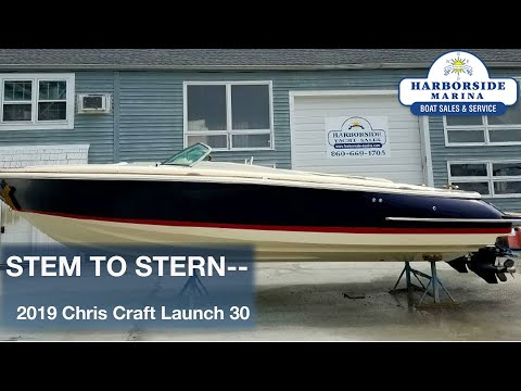 Chris-Craft Launch 30 video