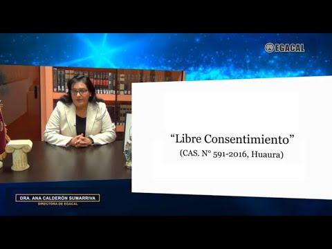 LIBRE CONSENTIMIENTO (CAS. 591-2016, HUAURA) - Luces Cámara Derecho 127