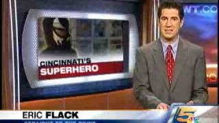 Cincinnatis Masked Super Hero: Part 1