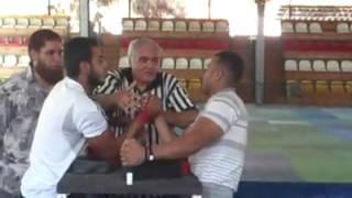 كابتن يوسف الظريف مع شريف عادل بطولة الجمهوريه 2009 في نادي الصيد