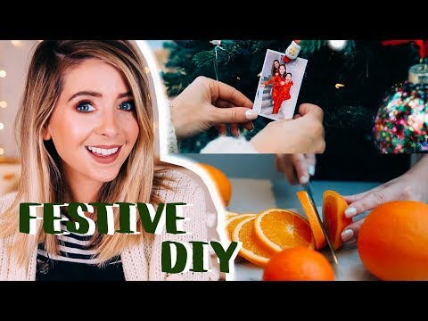 Easy Festive DIY Ideas | Zoella
