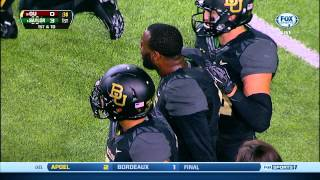 KJ morton hit on Oklahoma receiver sterling shepard