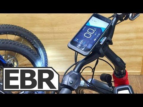 COBI Bosch Hub Smartphone Interface Review - $249 GPS, Alarm, Electric Bike Display