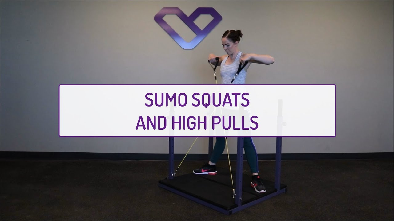 Sumo Squats and High Pulls